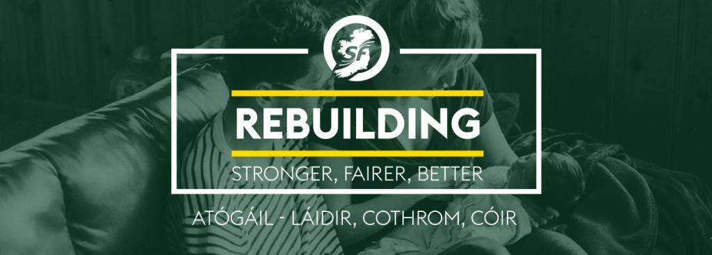Sinn Fein Banner Image - Pauline Tully TD